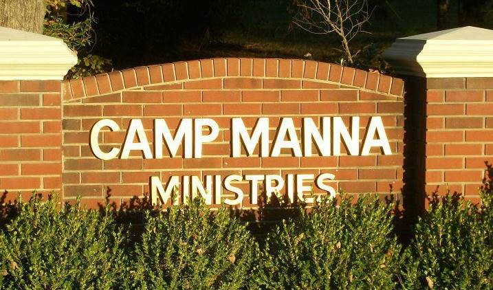 Camp Manna Ministries sign